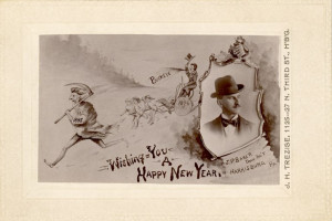 Calling Cards For Greeting New Year in the Victorian Era (12)